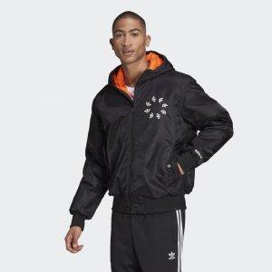 Куртка-бомбер BOLD Originals adidas. Цвет: черный