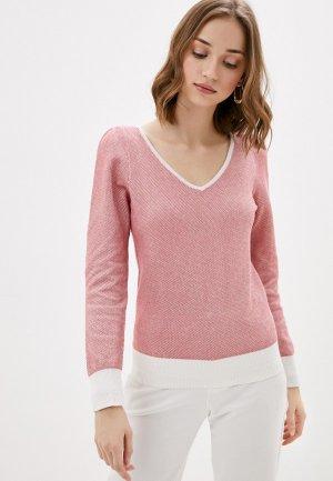 Пуловер Naf. Цвет: красный