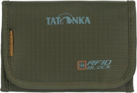 Кошелек FOLDER RFID Tatonka. Цвет: серый