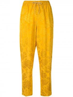 Dahlia jacquard trousers Karen Walker. Цвет: mustard