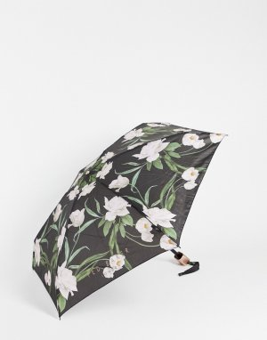 Зонт цвета черной бузины -Черный цвет Ted Baker