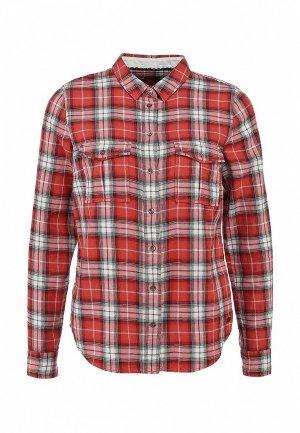 Рубашка EDC by Esprit. Цвет: красный