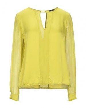 Блузка FRACOMINA. Цвет: кислотно-зеленый