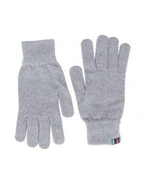 Перчатки PS PAUL SMITH. Цвет: светло-серый