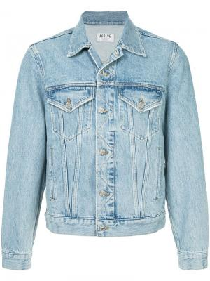 Джинсовая куртка Preston Agolde. Цвет: синий