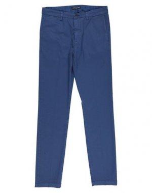 Повседневные брюки ARMATA DI MARE. Цвет: пастельно-синий