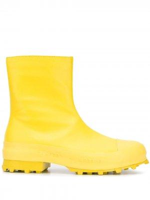 Непромокаемые сапоги на молнии CamperLab. Цвет: желтый