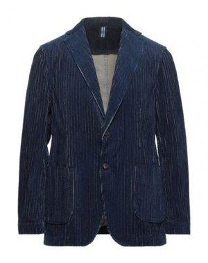 Пиджак BAGUTTA. Цвет: ярко-синий