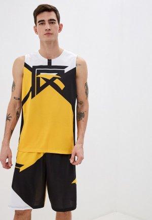 Костюм спортивный Anta Basketball. Цвет: желтый