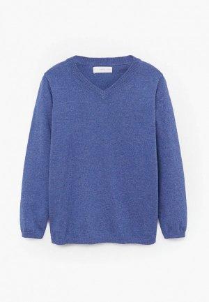 Пуловер Mango Kids - TENPICO. Цвет: синий