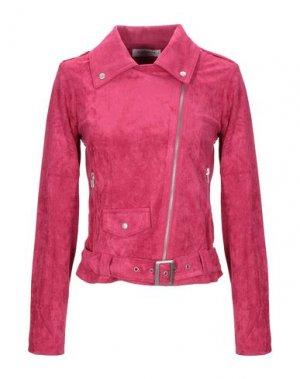 Куртка GLAMOROUS. Цвет: фуксия