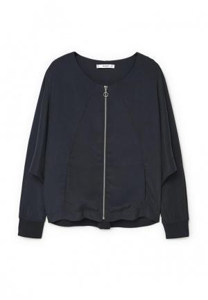 Куртка Mango - ANA. Цвет: синий