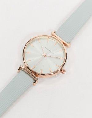 Часы мятного оттенка с розово-золотистой отделкой -Зеленый Bellfield