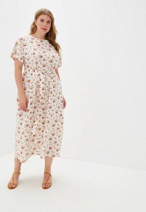 Платье Chic de Femme. Цвет: белый