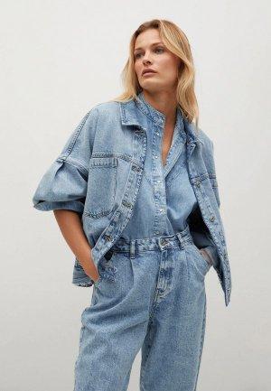 Куртка джинсовая Mango - SELINA. Цвет: голубой