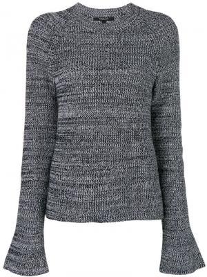 Bell-sleeve sweater Derek Lam. Цвет: черный
