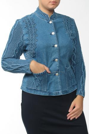 Куртка LAFEI-NIER. Цвет: фиолетовый