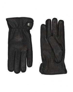 Перчатки ALPO. Цвет: черный