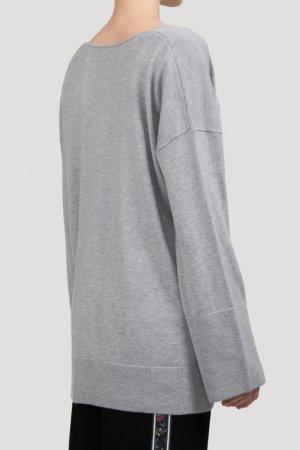 Однотонный пуловер Hugo Boss