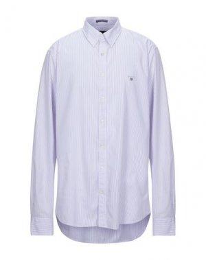 Pубашка GANT. Цвет: сиреневый