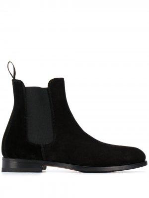 Ботинки челси Elena Scarosso. Цвет: черный
