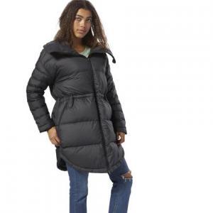 Утепленное пальто Outdoor Long Oversized Reebok. Цвет: black
