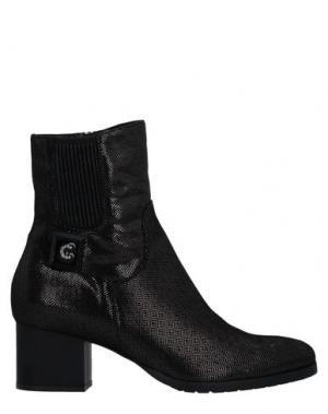 Полусапоги и высокие ботинки CONNI. Цвет: стальной серый