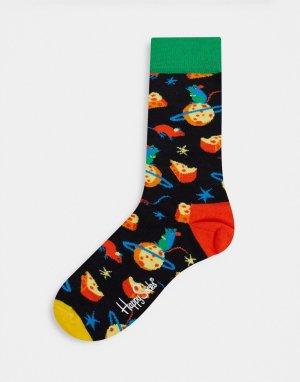 Носки с сыром -Мульти Happy Socks