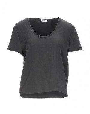 Блузка AMERICAN VINTAGE. Цвет: стальной серый