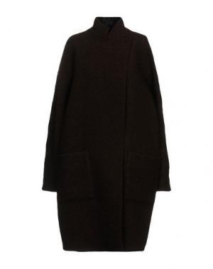 Пальто EMANUEL UNGARO. Цвет: коричневый