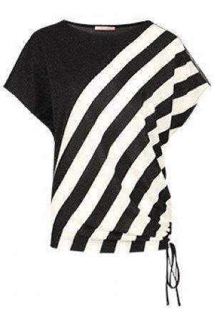 Блуза TORRE VALLEY. Цвет: черный