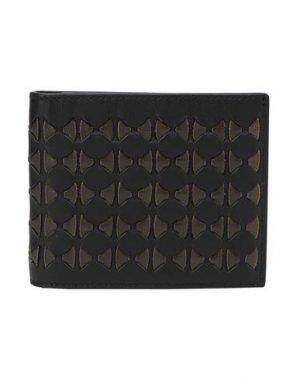 Бумажник SERAPIAN. Цвет: темно-зеленый