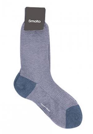 Носки SMALTO. Цвет: голубой