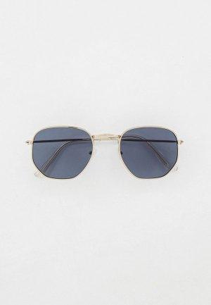 Очки солнцезащитные Concept Club. Цвет: серебряный