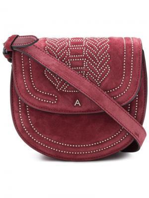 Crossbody saddle bag Altuzarra. Цвет: красный