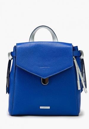 Рюкзак Alessandro Birutti. Цвет: синий