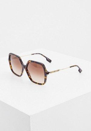 Очки солнцезащитные Burberry BE4324 300213. Цвет: коричневый