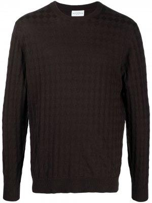 Джемпер с круглым вырезом Ballantyne. Цвет: коричневый
