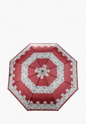 Зонт складной Doppler. Цвет: бордовый