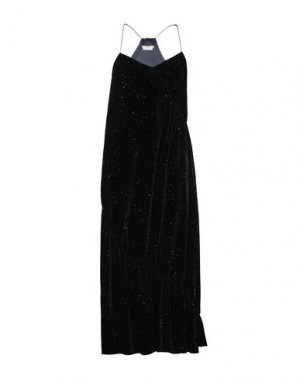 Длинное платье EDUN. Цвет: черный