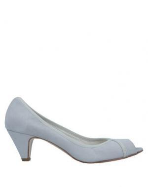 Туфли ALBERTO BRESSAN. Цвет: светло-серый