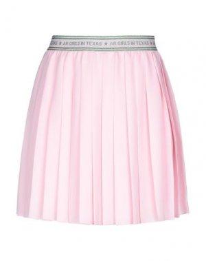 Юбка до колена AMERICAN RETRO. Цвет: розовый