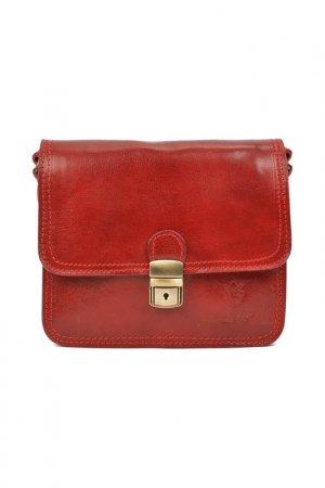 Bag CARLA FERRERI. Цвет: red