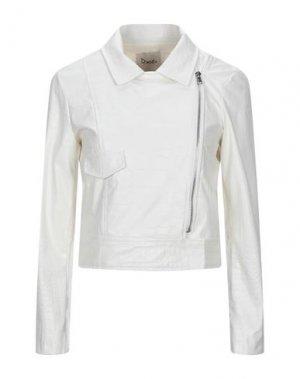 Куртка DIXIE. Цвет: белый