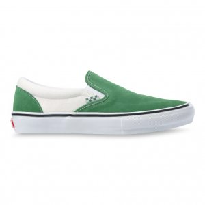 Кеды Skate Slip-On VANS. Цвет: белый