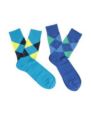 Короткие носки BURLINGTON. Цвет: лазурный