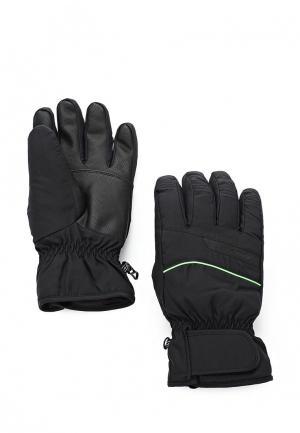 Перчатки горнолыжные Ziener GALDAR. Цвет: черный