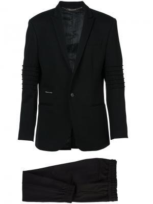 Брючный костюм Philipp Plein. Цвет: черный