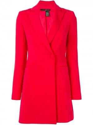 Короткое платье-пиджак Jay Godfrey. Цвет: красный