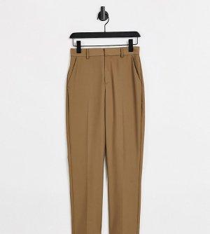 Узкие классические брюки коричневого цвета COLLUSION-Коричневый цвет Collusion